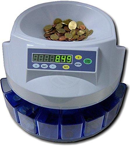 Contador de monedas de Euro