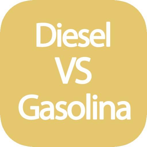 Calculadora diesel vs gasolina