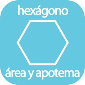 Calculadora del área y apotema del hexágono
