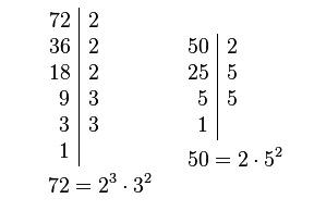 Calculadora de mínimo común múltiplo → Calcular MCM online