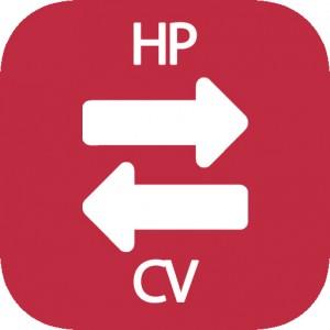 Conversor de HP a CV