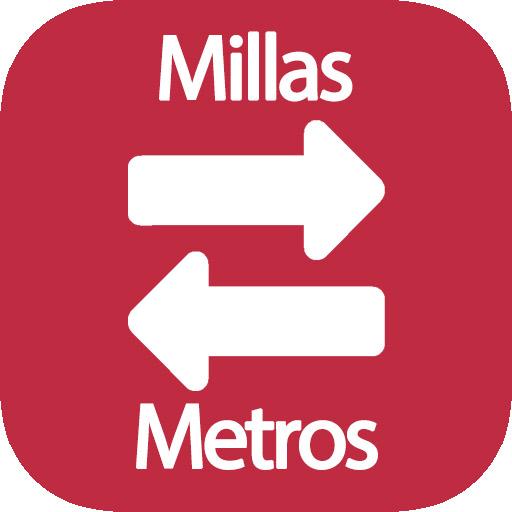 Millas a metros