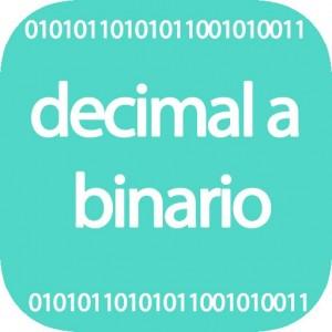 Calculadora de decimal a binario