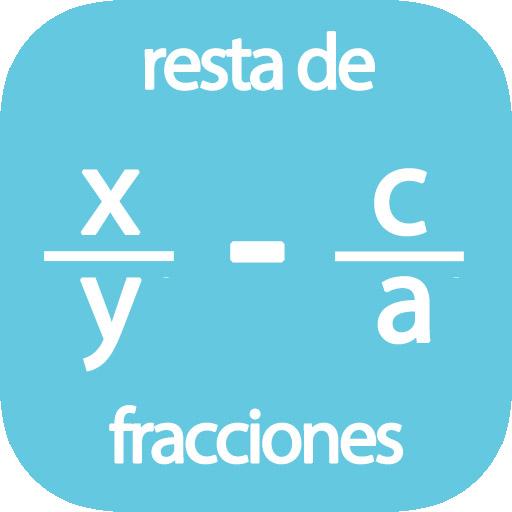 Calculadora de resta de fracciones