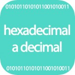 Hexadecimal a decimal