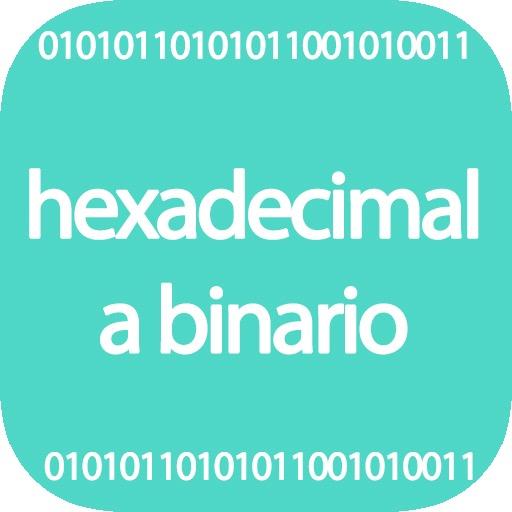 Hexadecimal a binario