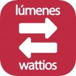 Lúmenes a wattios
