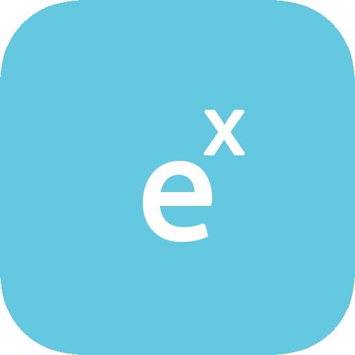 Calculadora de función exponencial