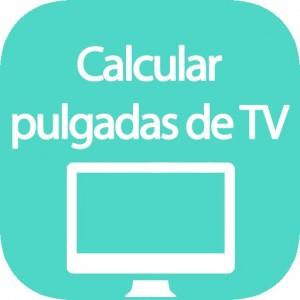 Calculadora de pulgadas de TV
