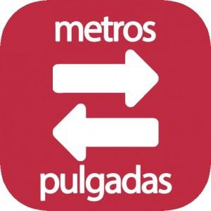 Metros a pulgadas