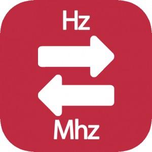 Conversor de hz a Mhz
