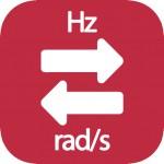 Hz a radianes por segundo