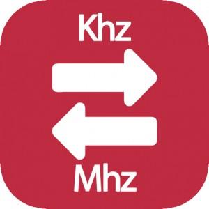 Conversor de Khz a Mhz
