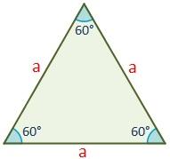 Triángulo equilatero