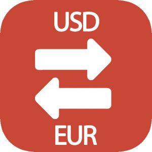 dólares a euros