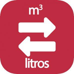 m3 a litros