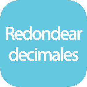 Redondear decimales online