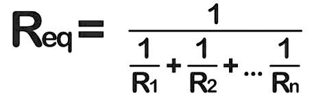 Fórmula de resistencias en paralelo