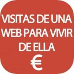 ¿Cuántas visitas necesitas para ganar dinero con tu web?