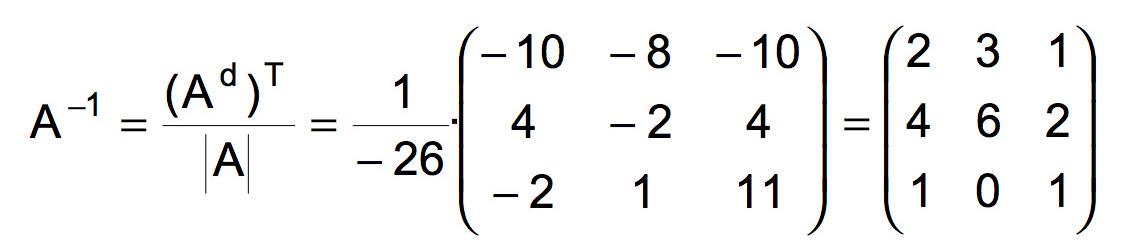 Matriz inversa 2x2 online: calculadora, ejemplos y fórmula