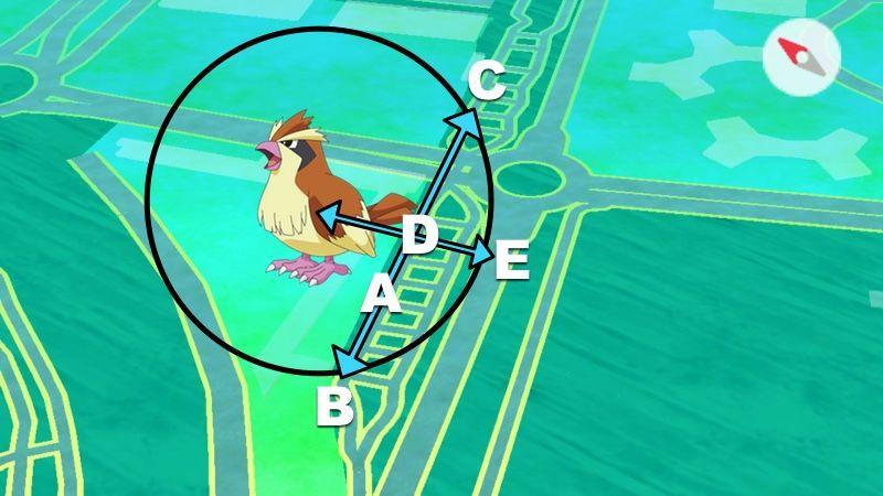 Pokémon en radar