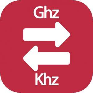 Ghz a Khz