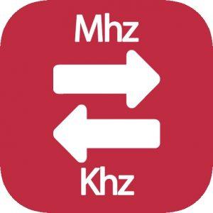 Mhz a Khz