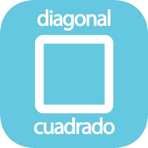 Diagonal de un cuadrado