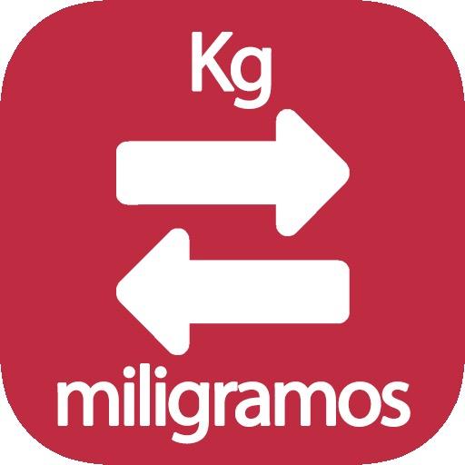 Conversor de Kg a mg, pasa de kilogramos a miligramos