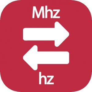 Mhz a Hz