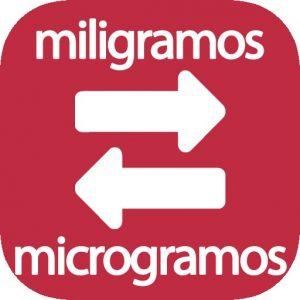 Mg a microgramos
