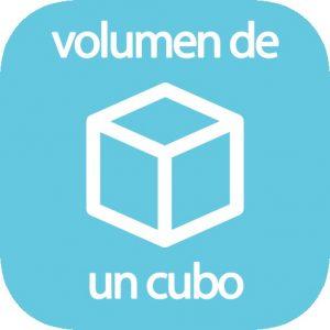 Volumen de un cubo