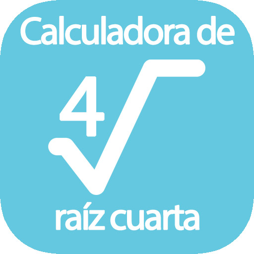 Calcula raíz cuarta de un número online → ∜