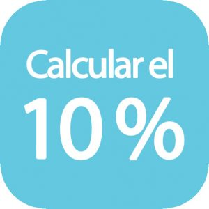 Calcular el 10 por ciento