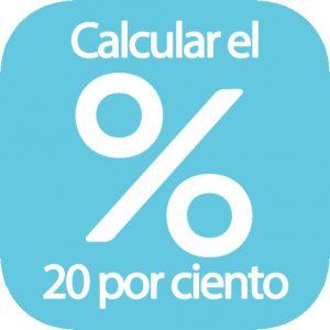 Calcular el 20%