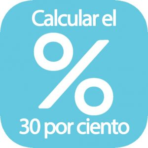 Calcular el 30 por ciento