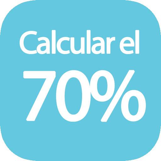 Calcular 70 por ciento de una cantidad