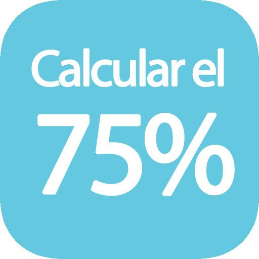 Calcular el 75 por ciento