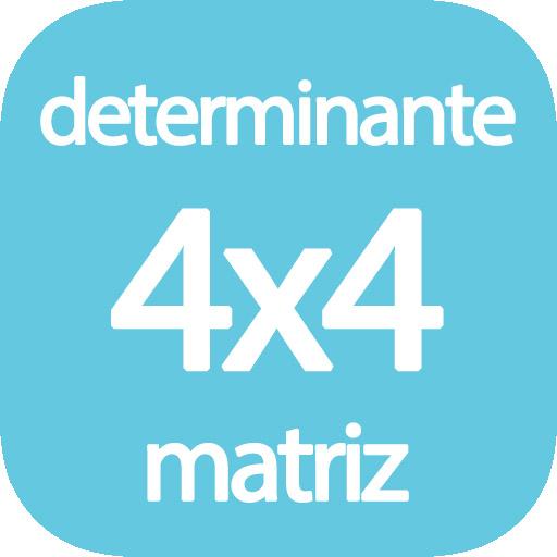 Determinante de matriz 4x4