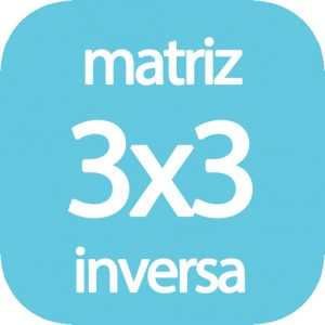 Calcular matriz inversa 3x3