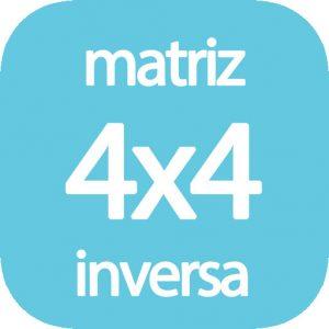 Matriz inversa 4x4