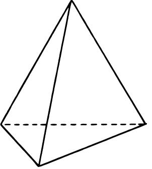 Tetraedro no regular