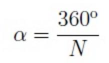 Fórmula del ángulo