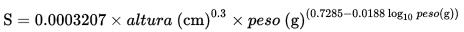 Fórmula de Boyd