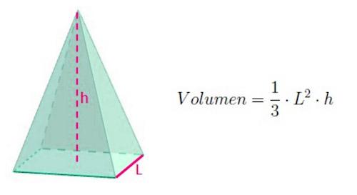 Calculadora Del Volumen De Una Pirámide Fórmulas Y Ejercicios