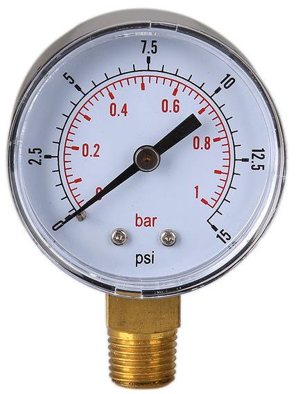 Manómetro de bomba
