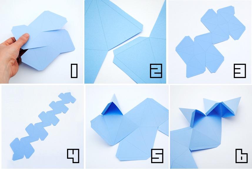 Tutorial para hacer un dodecaedro estrellado