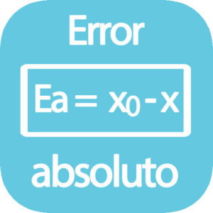 fórmula Error Absoluto