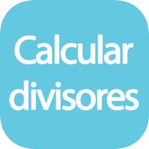 Calculadora divisores de un número