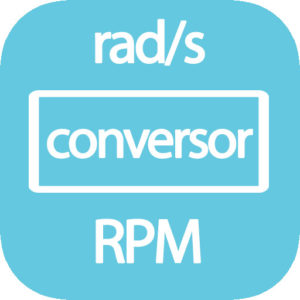 Conversor RPM a rad/s online